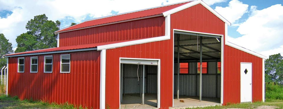 Red Steel Buildings Decatur Il Metal Buildings
